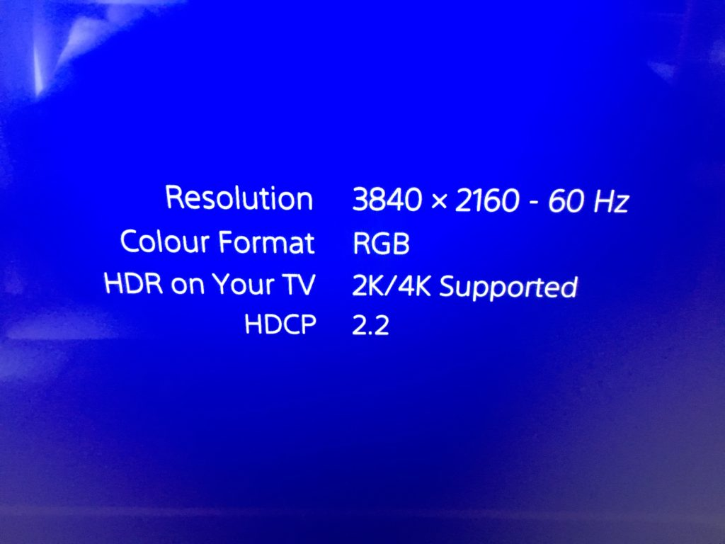 ps4 pro 2k/4k Supported